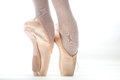 Ballet Shoe Royalty Free Stock Photo