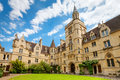 Balliol College. Oxford, England Royalty Free Stock Photo