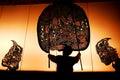 Ballo della tailandia dell ombra Fotografia Stock