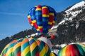 Ballons à air chauds II Image libre de droits