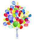 Ballons de vol d isolement Image libre de droits