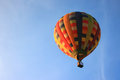 Balloon with blue sky Royalty Free Stock Photo