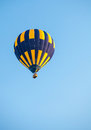Balloon in blue sky Royalty Free Stock Photo