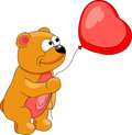 Balloon heart Stock Images