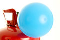 Balloon and Helium Royalty Free Stock Photo