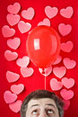 Balloon of Love Stock Image