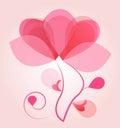 Balloon of love Royalty Free Stock Photo