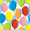 Balloon pattern Stock Images