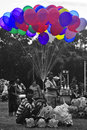 Balloon sellers Royalty Free Stock Photo
