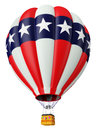 Balloon a symbol of the USA Royalty Free Stock Photos