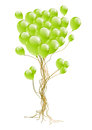 Balloon tree Royalty Free Stock Images
