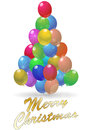 Balloon tree Stock Photos