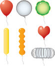 Balloon variation Royalty Free Stock Photos