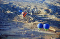 Ballooning in the early morning cappadocia turkey Stock Photos