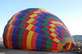 Ballooning preparation before in the early morning cappadocia turkey Royalty Free Stock Images