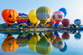 Balloons,Balloons in sky ,Balloon Festival,Singhapark International Balloon Fiesta 2017,Chiang Rai, Thailand