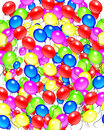 Balloons Birthday Background Royalty Free Stock Image