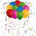 Balloons for birthday or party Royalty Free Stock Photos