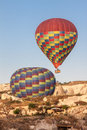 Balloons in Cappadocia Royalty Free Stock Photo