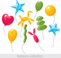Balloons collection Stock Image