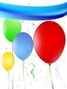 Balloons festivity decoration