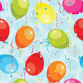 Balloons seamless pattern. Royalty Free Stock Image