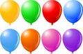 Balloons Singles Royalty Free Stock Photo