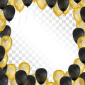Balloons On Transparent Backgr...