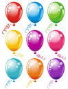 Balloons. Vector illustration  Stock Photos