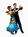 Ballroom dance Royalty Free Stock Images
