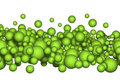 Balls, bubbles or carbonic Royalty Free Stock Images