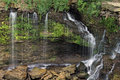 Balls falls on the niagara escarpment ontario canada Royalty Free Stock Photography