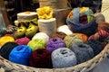 Balls of Wool Royalty Free Stock Photo