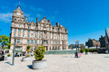 Balmoral hotel edinburgh famous on the princess street in downtown scotland uk Stock Photo