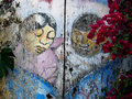 Balmy alley murals in san francisco detail of the from usa is home to the most concentrated collection of Stock Photos