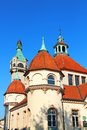 Balneology Building in Sopot, Poland Royalty Free Stock Images