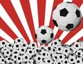 Balones de soccer Stock Photos