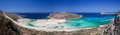 Balos Beach, Gramvousa peninsula, Crete, Greece Royalty Free Stock Image