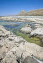 Balos Lagoon, Gramvousa, Crete, Greece Royalty Free Stock Images