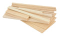 Balsa Wood Samples Royalty Free Stock Photo