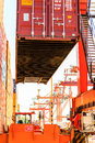 Baltic container terminal in gdynia on juny poland btc bct is the leading and one of the Stock Photography