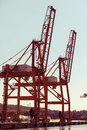 Baltic container terminal in gdynia on juny poland btc bct is the leading and one of the Stock Photo