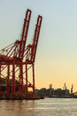 Baltic container terminal in gdynia on juny poland btc bct is the leading and one of the Stock Photos