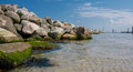 Baltic Sea, rocks, beautiful landscape! Royalty Free Stock Photo
