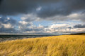 Baltic sea seacoast of in autumn Royalty Free Stock Photo