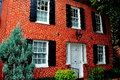 Baltimore, MD: Baltimore, MD: Federal Hill 18th Century Home Royalty Free Stock Photo