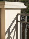 Baluster Contrasty Detail Royalty Free Stock Photo