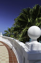 Balustrade dans Cancun Images libres de droits