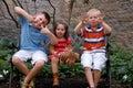 Bambini sciocchi Immagine Stock Libera da Diritti