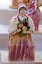 Bambola della buccia di cereale Fotografia Stock